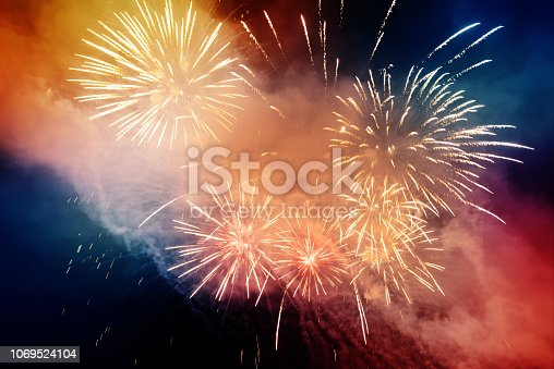 969086552istockphoto Firework Display For Celebration Events 1069524104