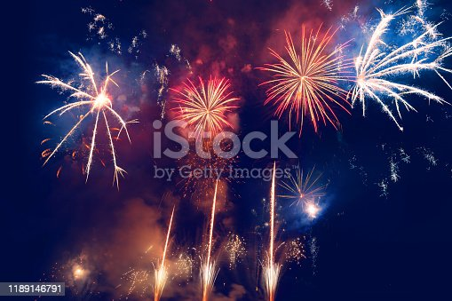 Firework Display For Celebration Events
