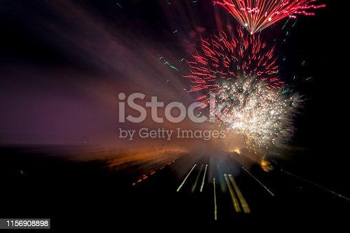 855125304 istock photo Firework display 1156908898