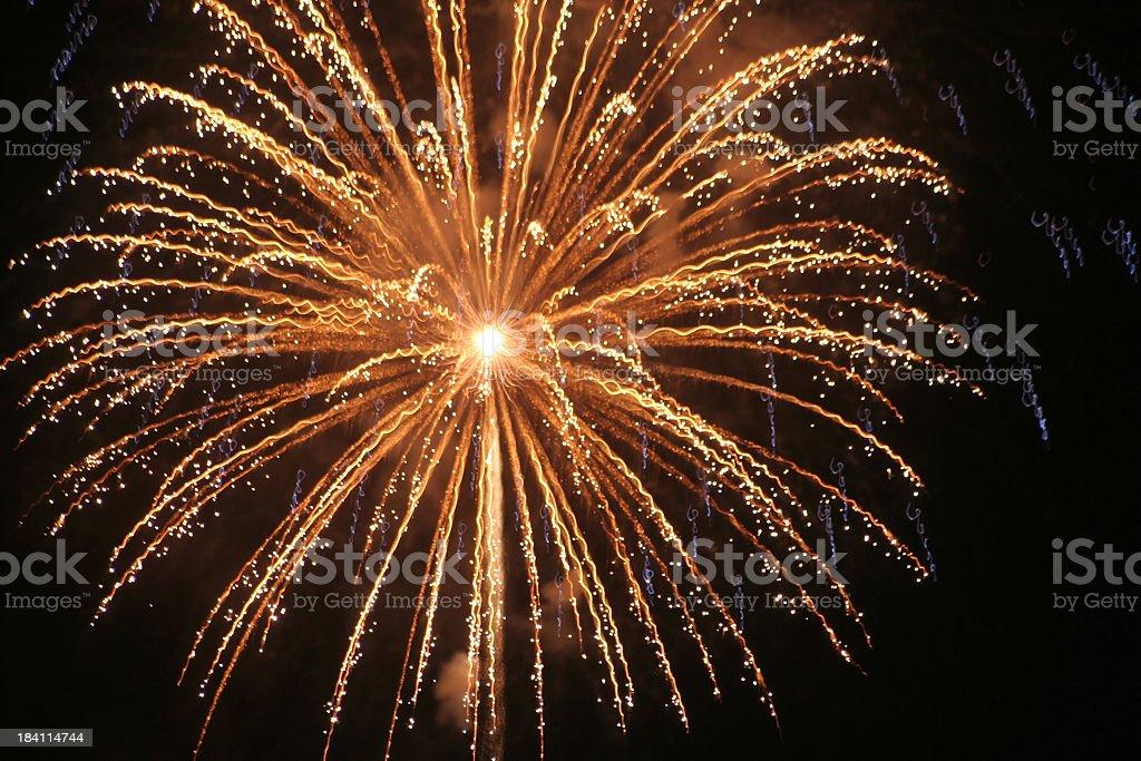 BOOM! Firework Display royalty-free stock photo