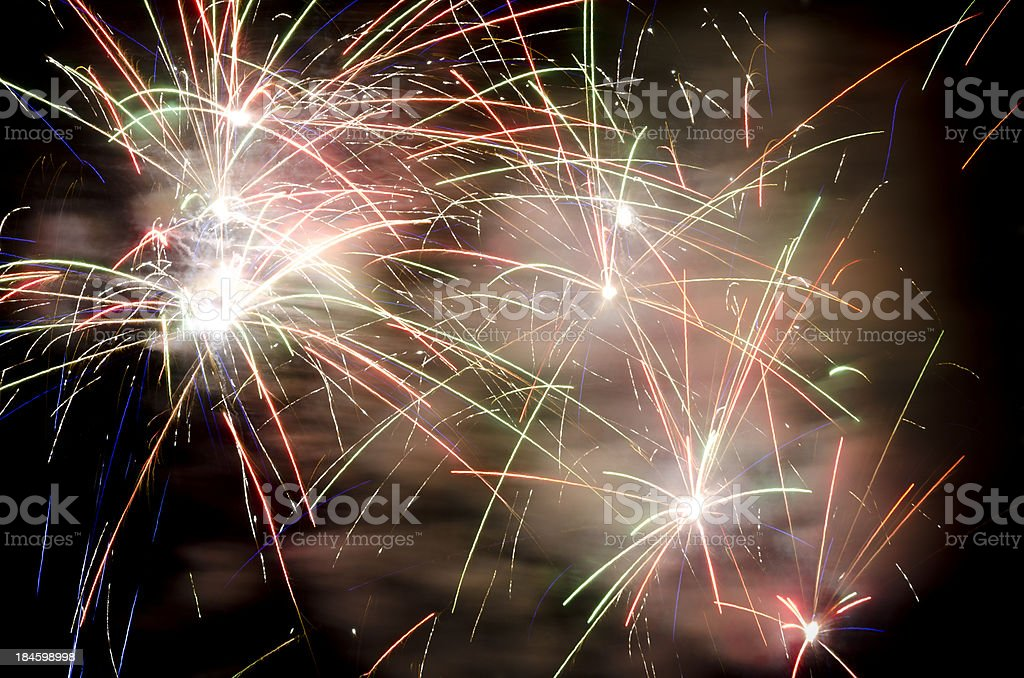 Firework explosion royalty-free stock photo