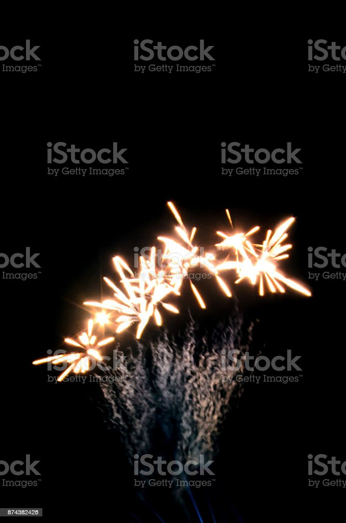 firework for background,Fireworks light up the sky,New Year celebration stock photo