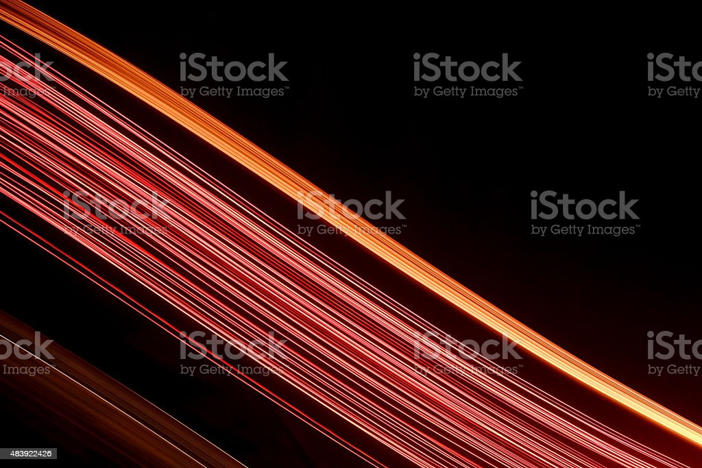 Firework Light Trails stock photo