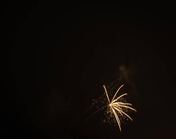 Feuerwerk in den Himmel geschossen – Foto