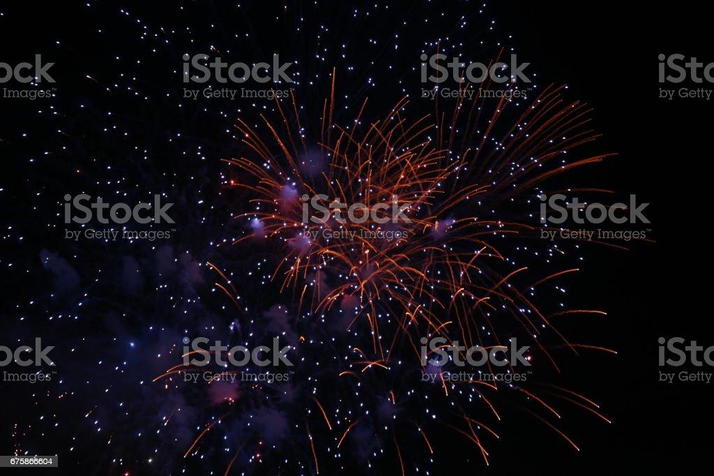 Firework-Hanabi stock photo