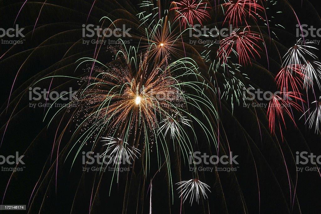 Fireworks 03 royalty-free stock photo