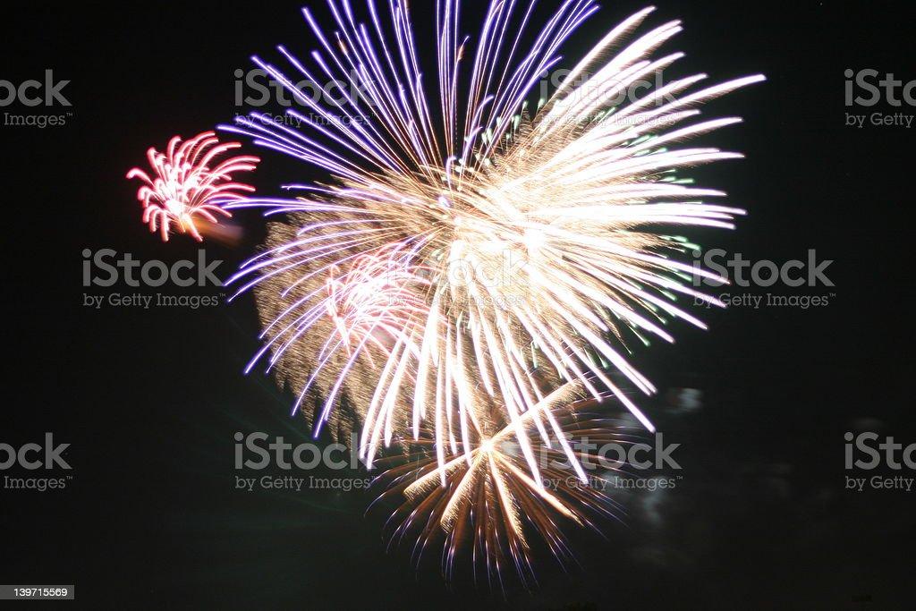 Fireworks 1 royalty-free stock photo