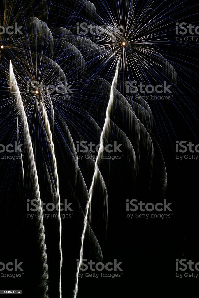 Fireworks 14 royalty-free stock photo