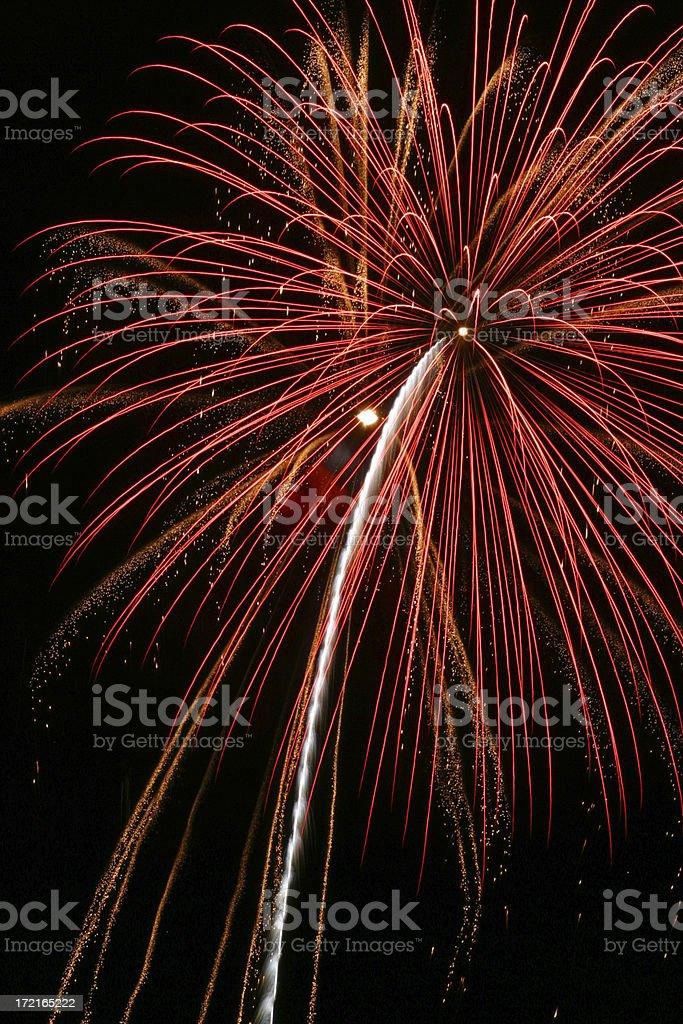 Fireworks 17 royalty-free stock photo