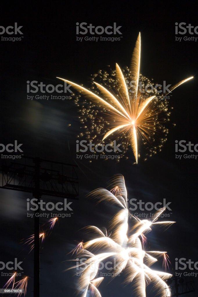 Fireworks 22 stock photo