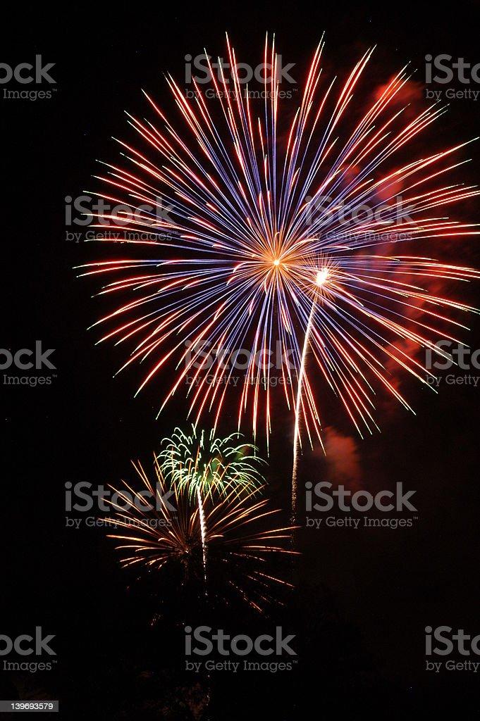 Fireworks 26 royalty-free stock photo