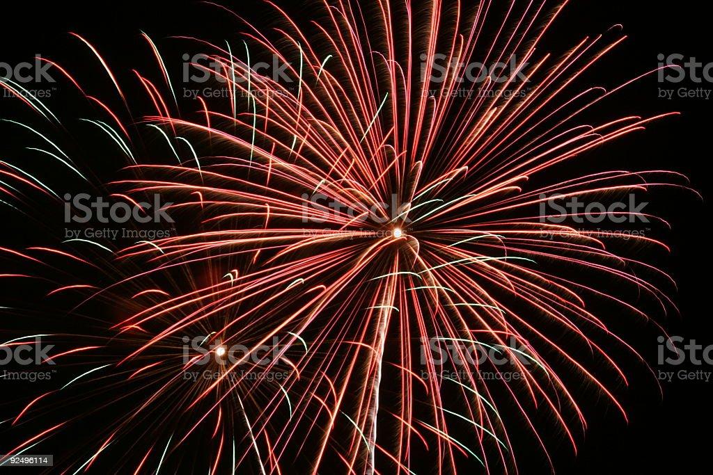 Fireworks 27 royalty-free stock photo
