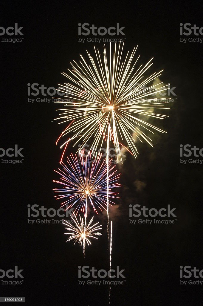 fireworks 29 royalty-free stock photo