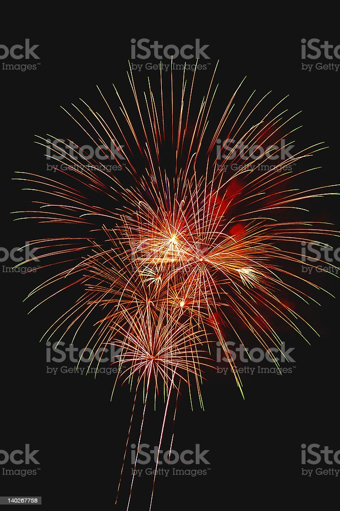Fireworks 3.6 royalty-free stock photo