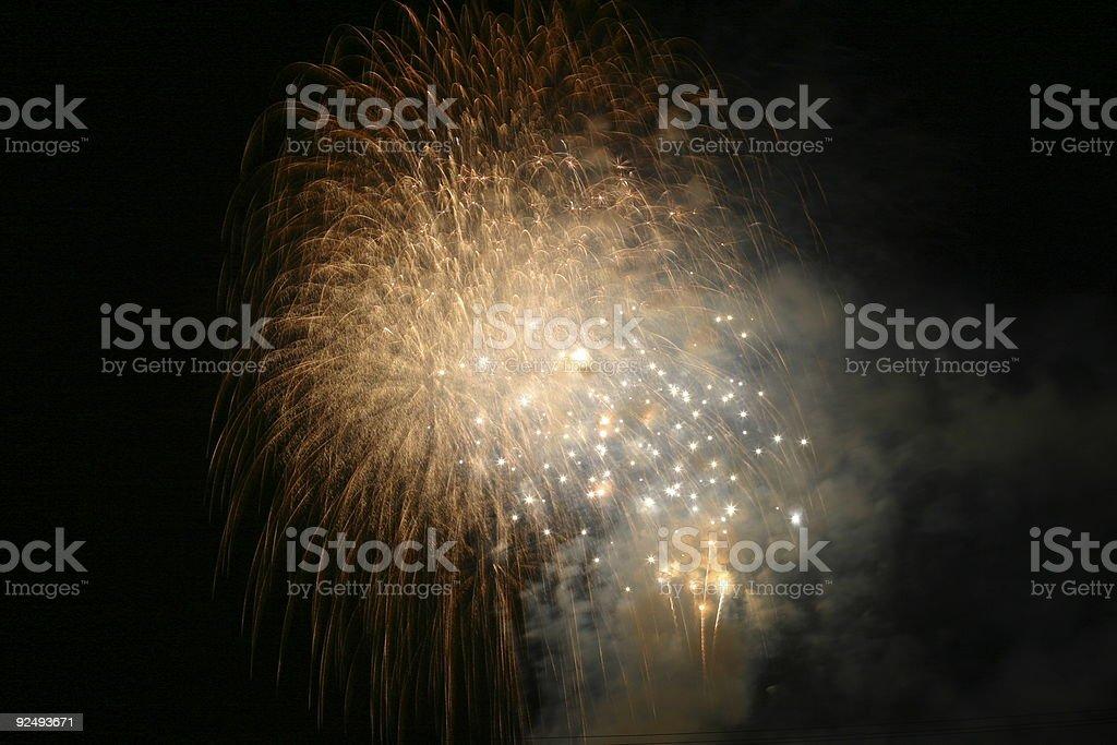 Fireworks 4 royalty-free stock photo