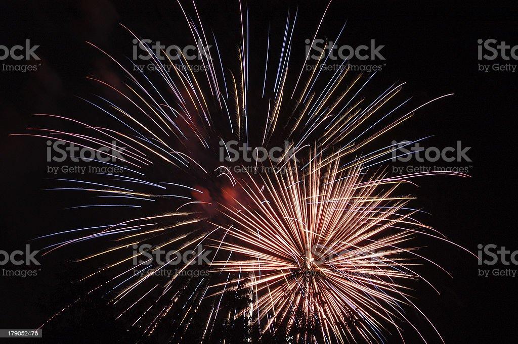 Fireworks 40 royalty-free stock photo