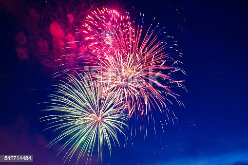 istock Fireworks 4th July 542714484