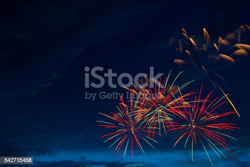 542714484 istock photo Fireworks 4th July 542715458
