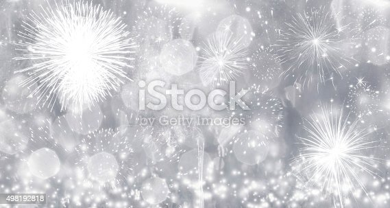 636207118 istock photo Fireworks at New Year 498192818