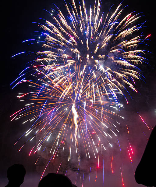 fireworks at stone mountain stock photo more pictures of 2015 istock