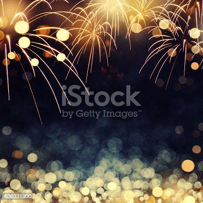 istock fireworks background New Year 636331900