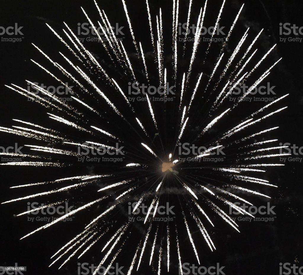 Fireworks Bang stock photo