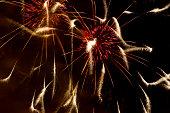 Beautiful fireworks display