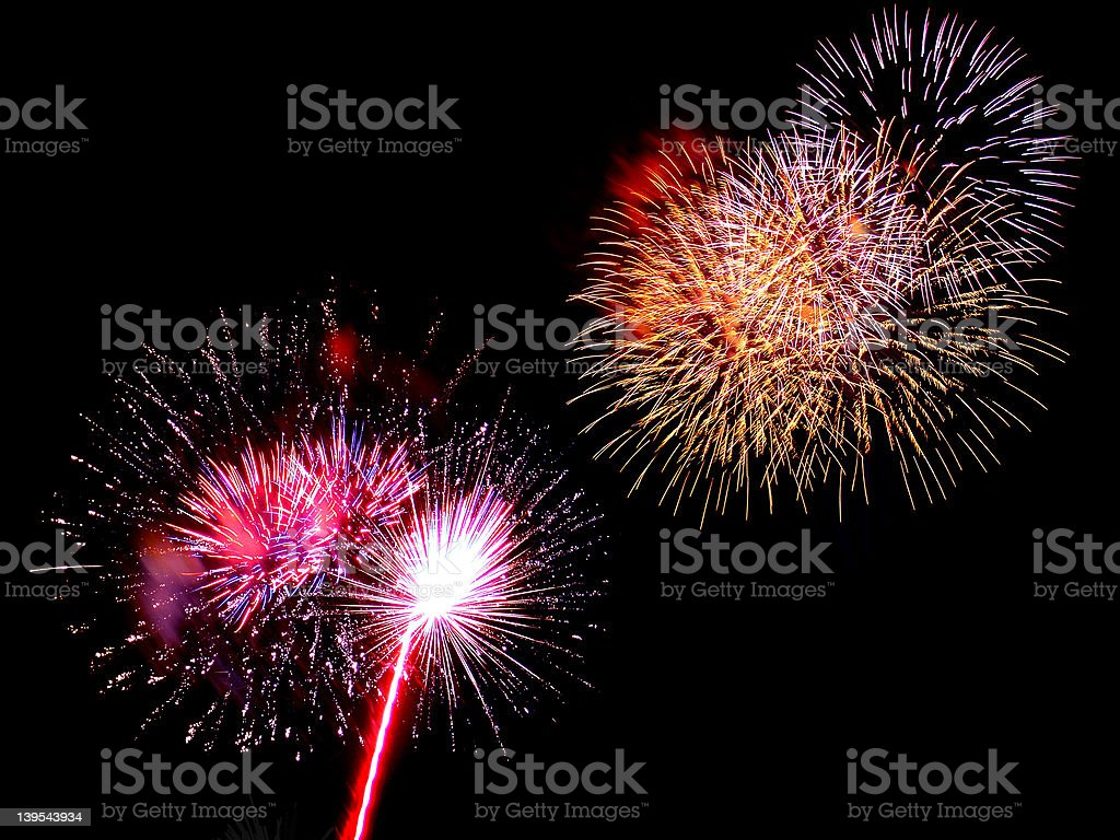 Fireworks Compilation 01 royalty-free stock photo