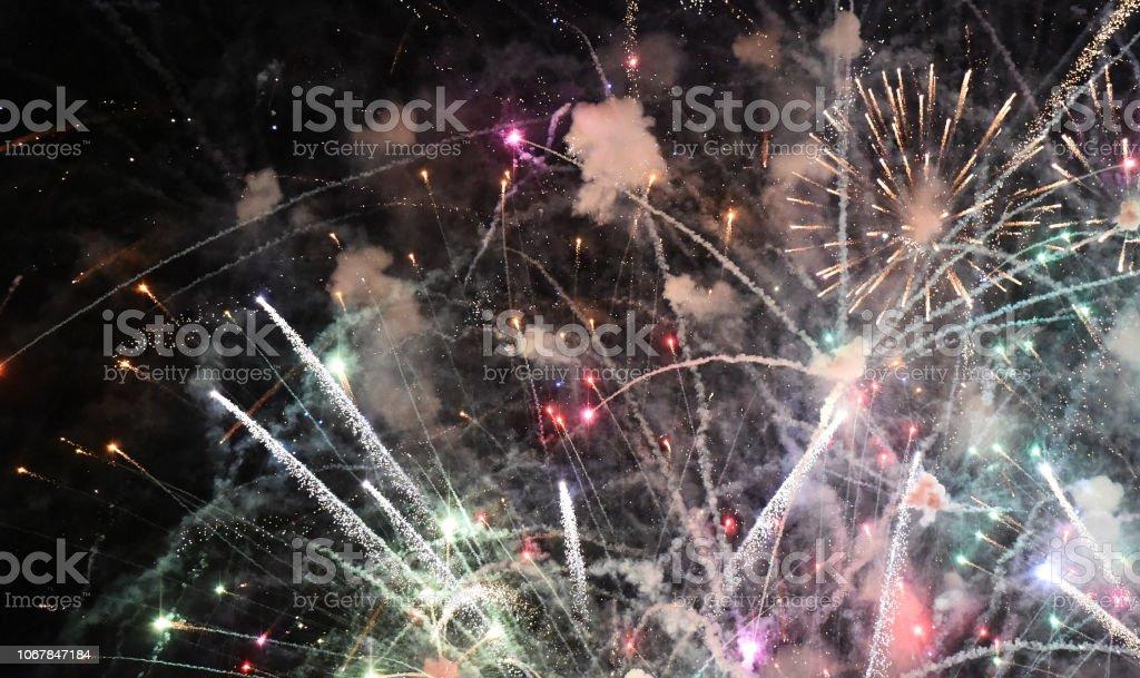 Fireworks Delight stock photo