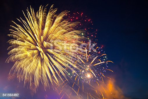 542714484 istock photo Fireworks display on 4th of July 541564482
