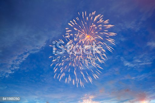 542714484 istock photo Fireworks display on 4th of July 541565250