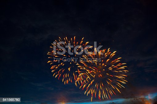 542714484 istock photo Fireworks display on 4th of July 541565780