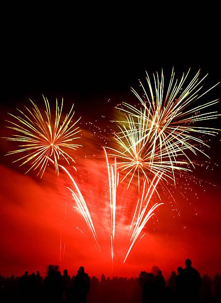 Fireworks Display stock photo