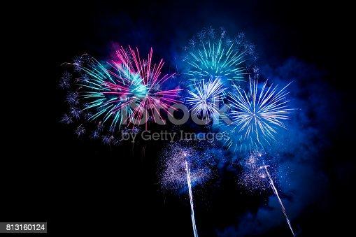 istock Fireworks Display 813160124