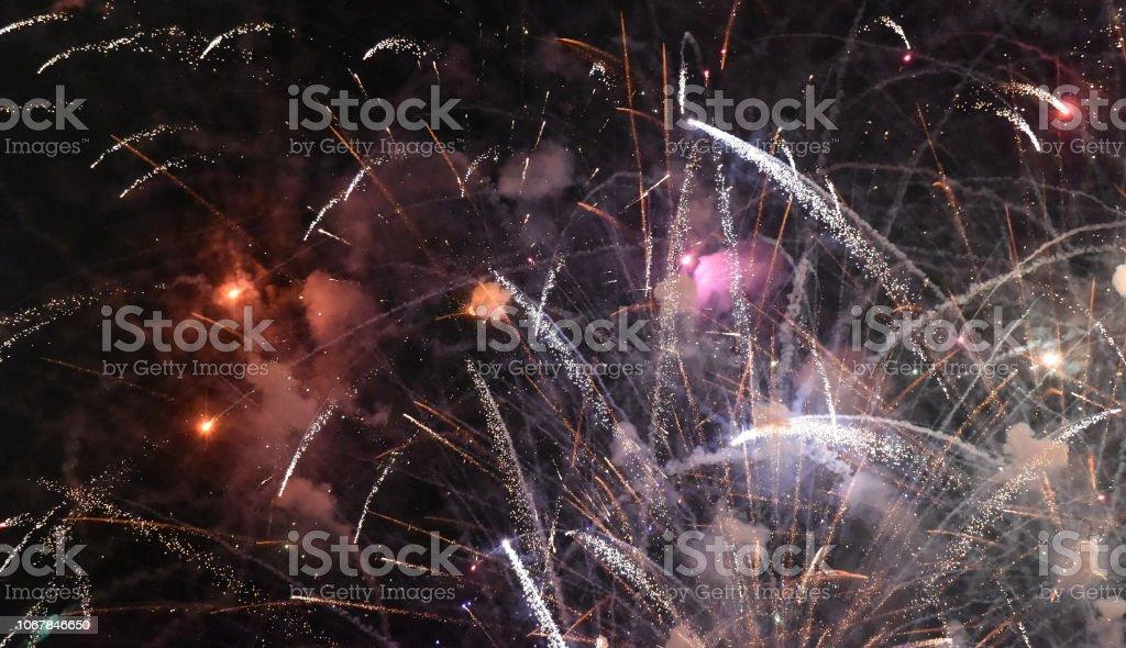 Fireworks Displayed stock photo