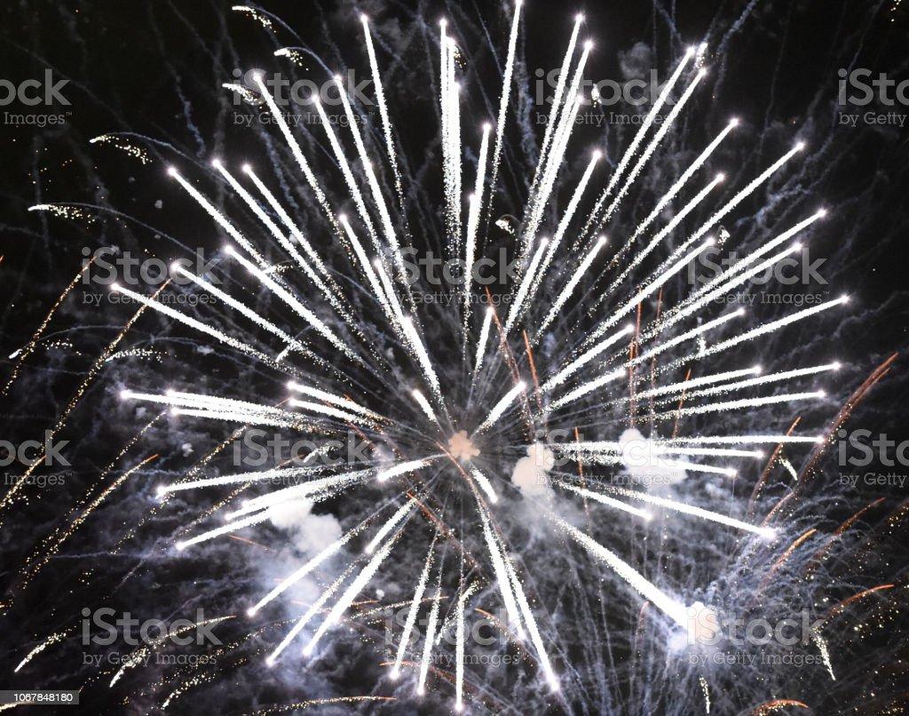 Fireworks Envelope stock photo