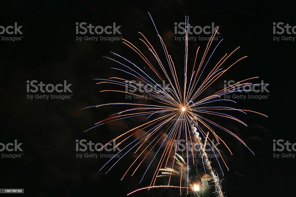 fireworks md VIII royalty-free stock photo