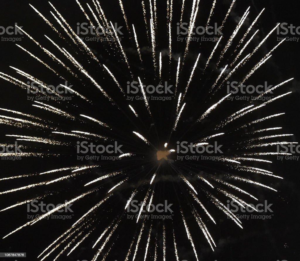 Fireworks Mez stock photo