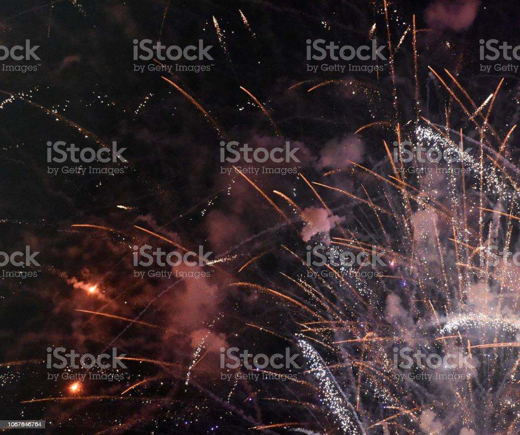 Fireworks Night stock photo