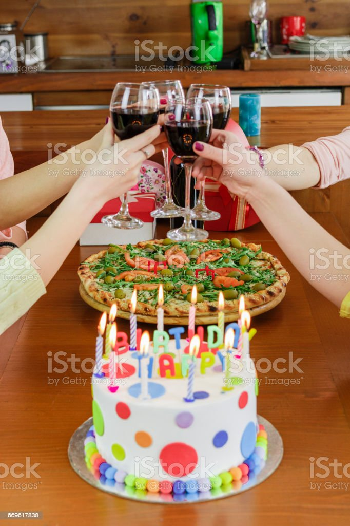 Pleasant Fireworks On A Birthday Cake Stock Photo Download Image Now Istock Personalised Birthday Cards Paralily Jamesorg