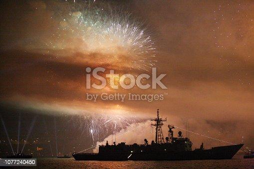 istock Fireworks 1077240450