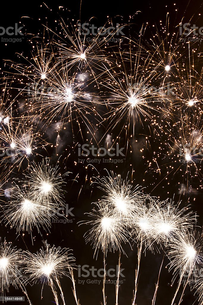 Fuegos artificiales royalty-free stock photo