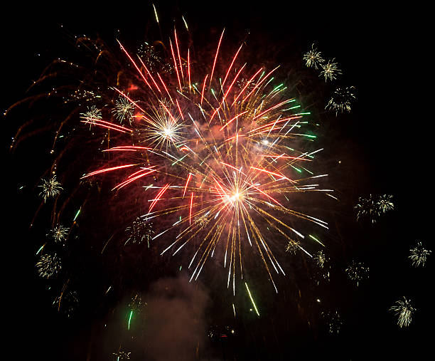 fireworks - petard stock photos and pictures