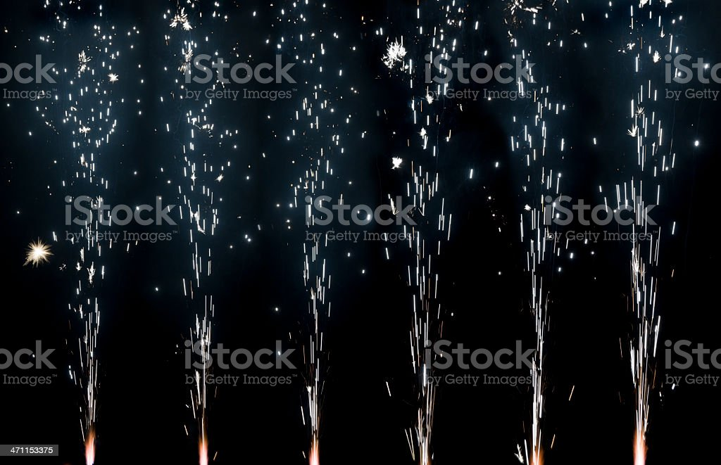 fireworks (image size XXXL) royalty-free stock photo