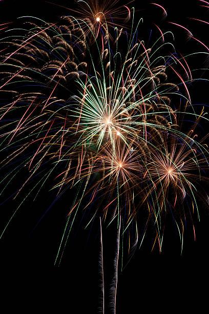 Fireworks stock photo