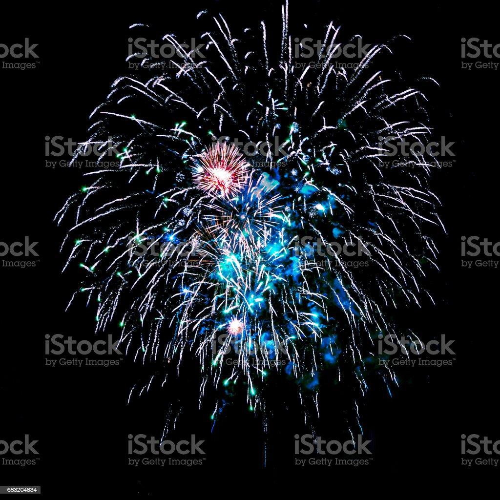 Feuerwerk Lizenzfreies stock-foto
