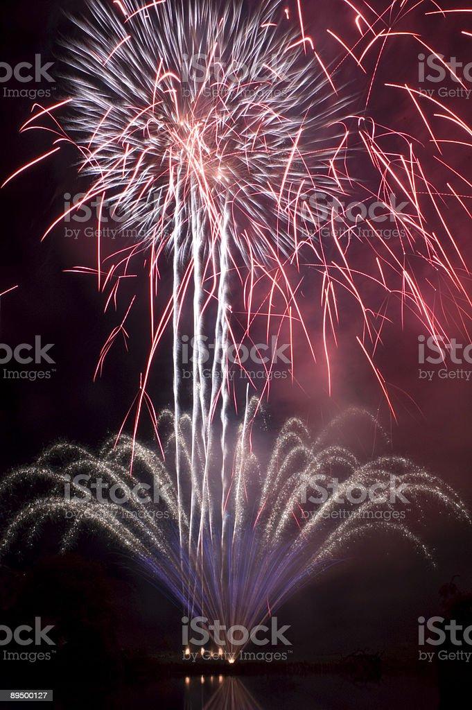 Fireworks royalty free stockfoto