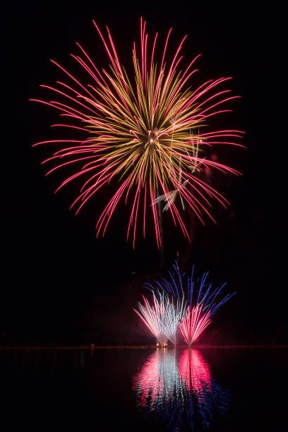 Fireworks Fireworks from the display in Avon, Colorado avon colorado stock pictures, royalty-free photos & images