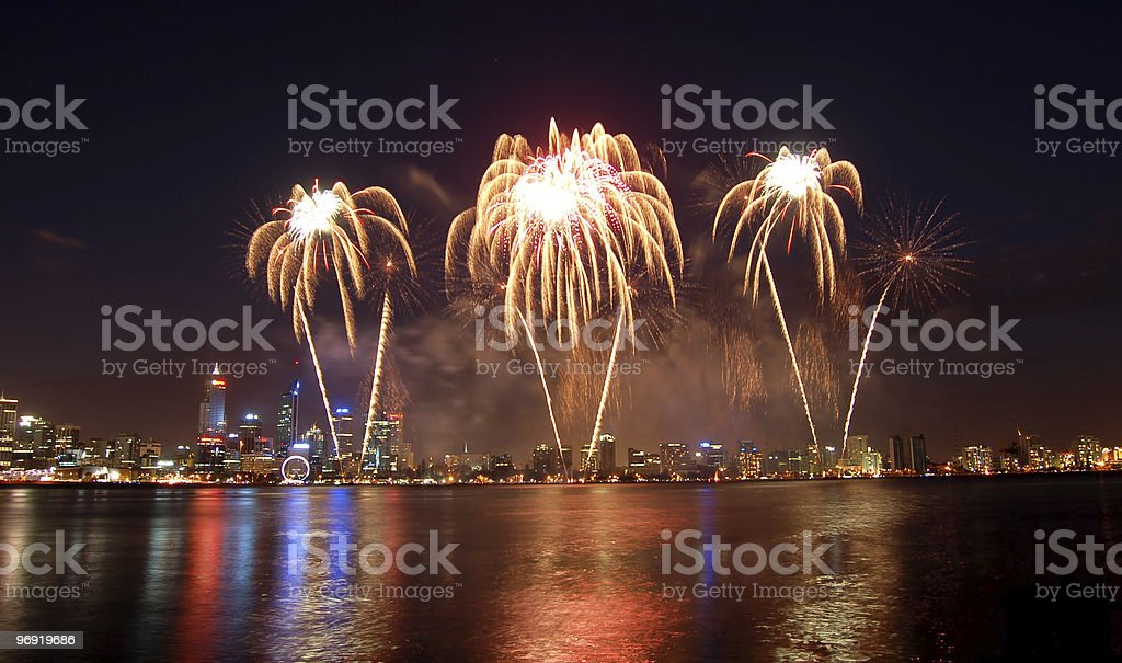 fireworks royalty-free stock photo