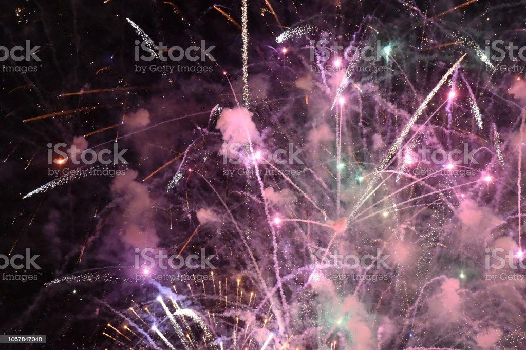 Fireworks Reveal stock photo